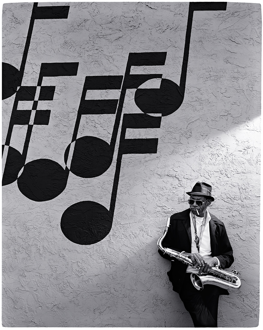 Eddie Saunders, Kansas City jazz, portrait