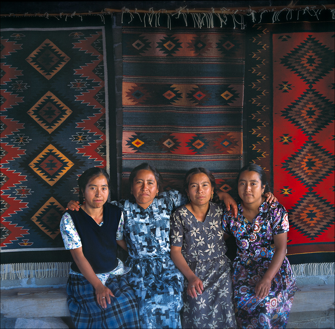 Vincente sisters, Zapotec Women of Oaxaca