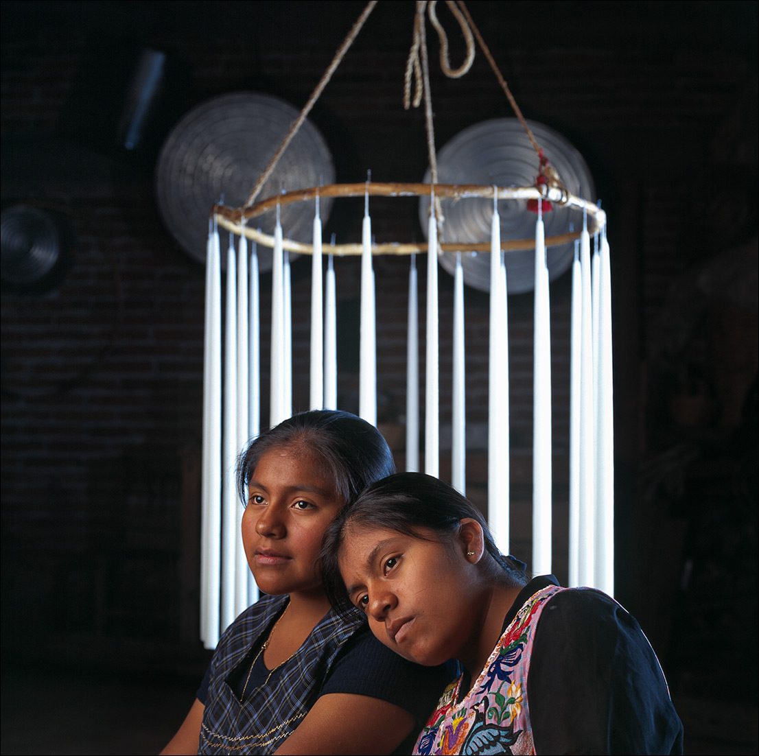 candle-makers, Zapotec Women of Oaxaca
