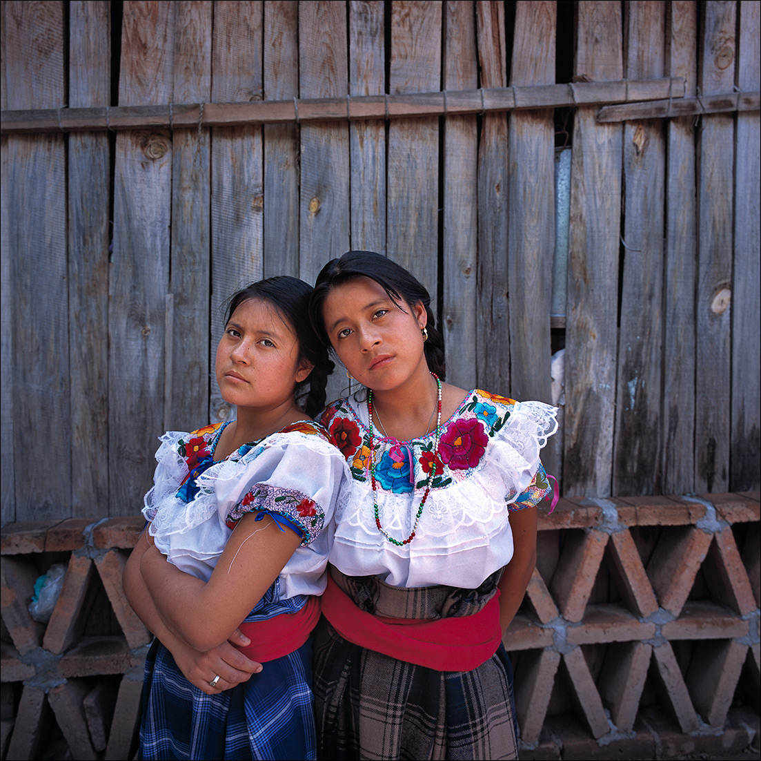 reina-and-ana, Zapotec Women of Oaxaca