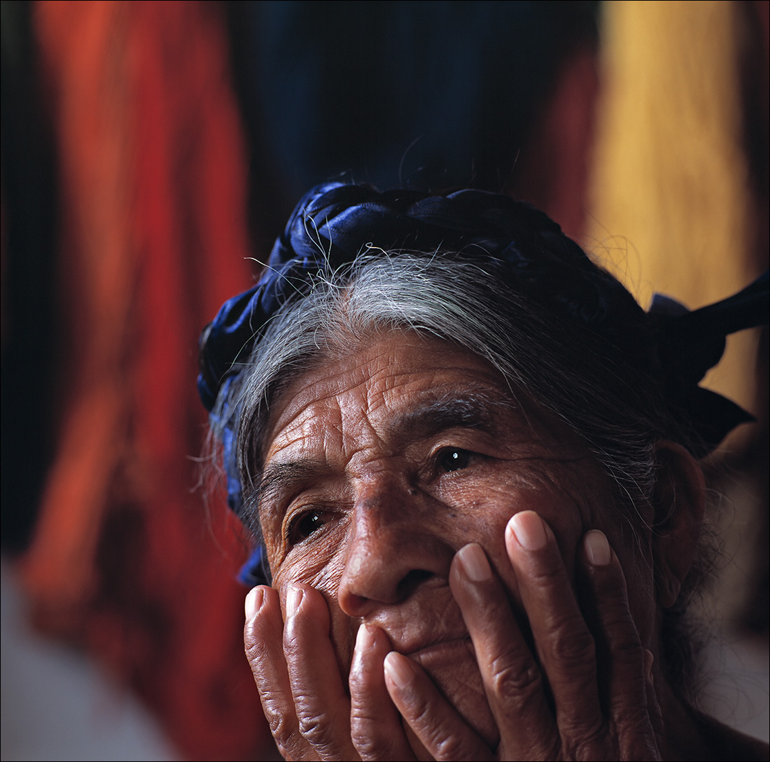 rosa, Zapotec women of Oaxaca, portrait
